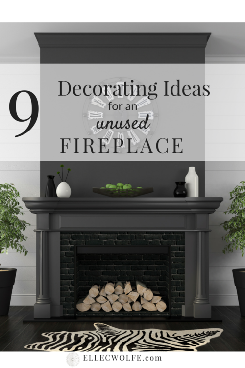 9 Decorating Ideas For An Unused Fireplace