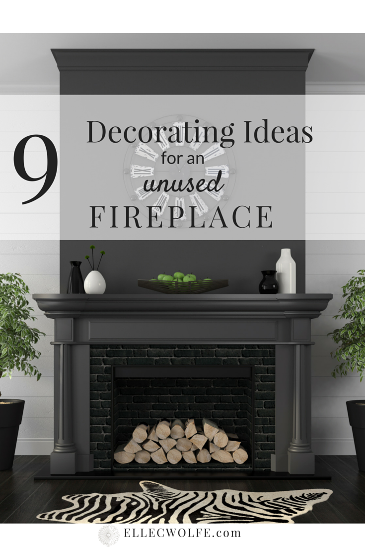 Decorating Tips For Living Room Brown Walls: 9 Decorating Ideas For An Unusable Fireplace